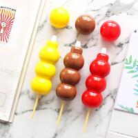 冰糖葫芦修正带学生用创意改正带可爱糖果多功能涂改贴改错带