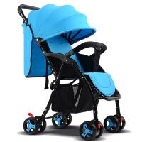 婴儿推车可坐躺轻便携高景观四季双向折叠全篷四轮手推车儿童车
