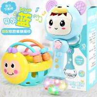 男孩益智早教婴儿手抓球抠洞洞玩具新生儿0-3-6-12个月软胶球类女宝宝1岁