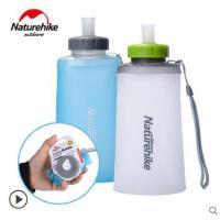 软水瓶耐用骑行登山水壶户外水壶硅胶折叠水壶 运动大容量便携饮水袋