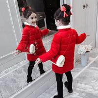 儿童棉衣冬季2018新款韩版外套棉袄唐装中国风女孩拜年服