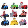 汪汪队立大功(PAW PATROL) 玩具车套装男童挖掘车玩具狗狗巡逻队警车儿童消防车