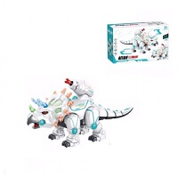 儿童智能遥控恐龙机器人玩具可发射霸王龙触摸感应电动编程机械战龙机器恐龙侏罗纪世界