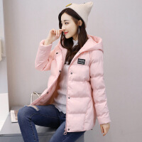 女中长款冬季新款韩版休闲女士棉袄加厚小个子棉衣女外套