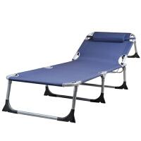 办公室躺椅折叠床单人床午休午睡床行军布床陪护床简易床 +灰色绒棉