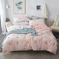 床上四件套风被套被罩床笠款网红床单双人4件套全棉三件套