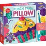 Punch Yarn Pillow