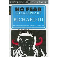 【现货】英文原版 Richard III (No Fear Shakespeare) 别怕莎士比亚:奥赛罗 古英语现代