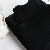 2018大码冬装大码针织打底衫高领针织衫XT