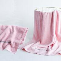 毛巾纯棉洗脸家用柔软吸水全棉男女运动情侣面巾一对装 75x35cm