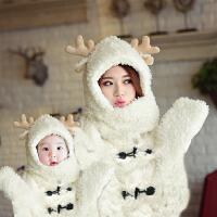 女婴儿衣服1岁3个月男宝宝长袖哈衣爬服冬季装加厚6新生儿连体衣