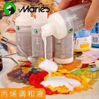 马利丙烯颜料专用调和液100ML美术用品中稀释剂媒介 增加耐晒度光泽度