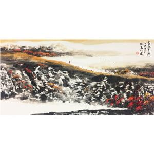 陈亮《高原金秋》著名画家