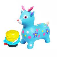 儿童充气玩具音乐跳跳马加大加厚跳跳玩具坐骑马宝宝小木马