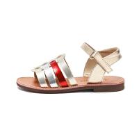 童鞋时尚新款女童罗马凉鞋时尚公主鞋软底防滑凉鞋