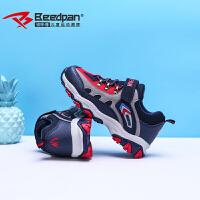 彼得潘男童鞋2018秋冬季新款儿童防滑登山户外鞋加绒运动鞋P6022