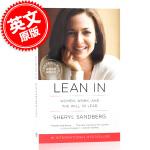 现货 向前一步 Lean In 英文原版 欢乐颂安迪原型 Facebook执行官 Sheryl Sandberg 女性励