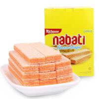 【满99减50元】印度尼西亚进口丽芝士Richeese纳宝帝奶酪味威化饼460g休闲零食