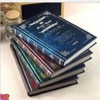 联华Magic魔法书复古32K彩页笔记本16K白纸本速写涂鸦本加厚空白