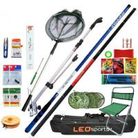 钓鱼竿套装组合新手钓鱼杆碳素手竿垂钓用品全套鱼具渔具套装