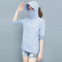 2021新款防晒衣女短款韩版防晒服薄款外套开衫