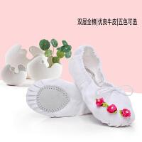 蕾丝花边幼儿童舞蹈鞋女童跳舞鞋芭蕾舞鞋猫爪鞋练功鞋