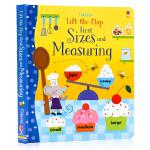 Usborne 长度概念学量度尺寸翻翻书 Lift-the-Flap Sizes and Measuring 英文原版