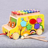 宝宝玩具儿童几何形状配对积木男女孩0-1-2-3周岁