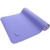 皮尔瑜伽 TPE6mm防滑两面用瑜伽垫紫罗兰色 (附带背包)(量大团购可咨询:010-57993483)