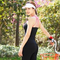 女士瑜伽服 健身房服愈加晨夜跑步运动服女瑜珈舞蹈速干上衣 支持礼品卡支付