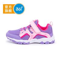 【秋尚新】361度童鞋女童户外鞋中大童秋季新款运动鞋18年儿童跑鞋K81832605