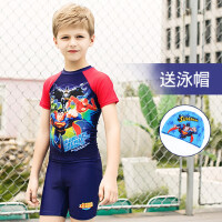 儿童泳衣男童连体分体防晒短袖泳装中大童宝宝卡通游泳衣