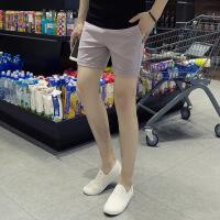 男三分裤韩版修身短裤青年男士运动3分裤潮男网红纯色3分裤男