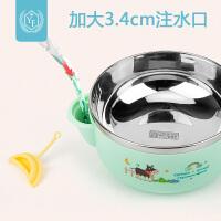 婴儿碗勺套装辅食碗宝宝注水保温碗辅食工具神器硅胶勺子餐具米糊