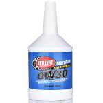 美国原装进口红线Redline机油汽车全合成机油0W-30多脂类五类润滑油 (946毫升/瓶)