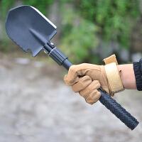多功能工兵铲折叠军工铲户外钓鱼铲车载小号兵工铲铁铲铁锹