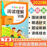 小学阅读理解训练二年级下册语文 通用版