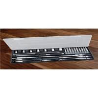 哈博-多功能28件钻头盒套装高速钢麻花钻组合组套工具五金工具套装 电动工具
