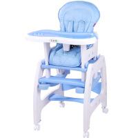 多功能儿童餐椅宝宝餐椅婴儿椅吃饭餐桌椅学习书桌带摇马脚轮