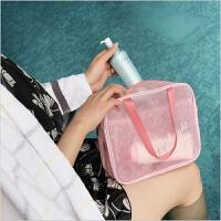 旅行透明沙滩包干湿分离洗澡包男女健身游泳装备泳衣防水收纳包袋