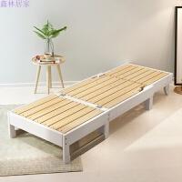 实木沙发床可折叠客厅书房阳台1.2小户型两用床多功能1.5双人1.8 1.8米-2米