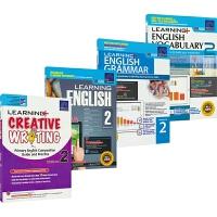 学习系列二年级英语语法词汇写作 SAP Learning English+Grammar+Vocabulary+Wri