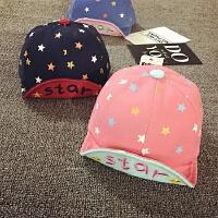 宝宝帽子夏天遮阳帽男女儿童棒球帽鸭舌帽儿童婴儿帽子-24个月