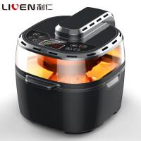 利仁(Liven)KZ-D1001第三代空气炸锅 智能家用空气能烤箱电炸锅薯条机