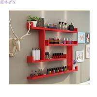展示架化妆品美甲店甲油胶架子壁挂墙上置物架创意隔板置物架