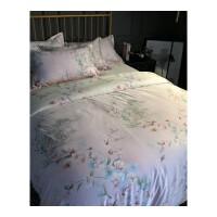 夏季天丝四件套1.5m1.8m床夏天冰丝床单被套夏凉丝滑裸睡床上用品