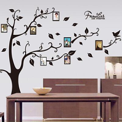 照片墙贴相框树木贴画办公室文化墙贴纸心愿树教室背景装饰许愿树  大 发货周期:一般在付款后2-90天左右发货,具体发货时间请以与客服协商的时间为准
