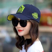 帽子女韩版潮鸭舌帽遮阳帽户外运动帽学生休闲帽牛仔棒球帽