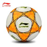 李宁新款机缝足球 专业比赛儿童用球防滑耐磨足球
