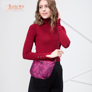 【可使用礼品卡】莱夫女生小包包女2018新款时尚百搭韩版迷你斜挎包布女包春季个性